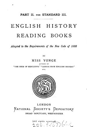 English history reading books   With  The young student s English history reading book  and  English history home lesson books