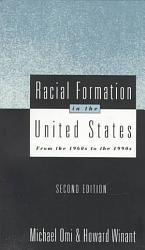 Racial Formation In The United States Book PDF