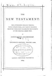 The New Testament: the Authorised English Version