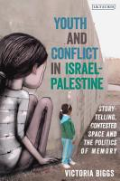 Youth and Conflict in Israel Palestine PDF