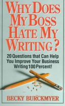 Why Does My Boss Hate My Writing?