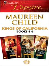 Kings of California books 4-6: Conquering King's Heart\Claiming King's Baby\Wedding at King's Convenience