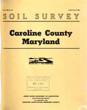 Soil Survey: Caroline County Maryland