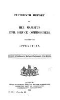 Report of Her Majesty s Civil Service Commissioners PDF
