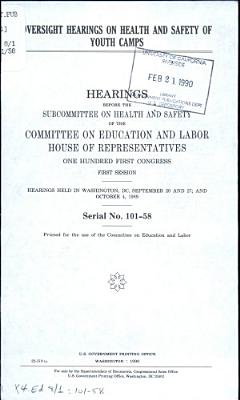 Oversight Hearings on Health and Safety of Youth Camps PDF