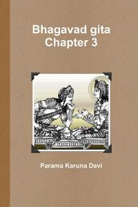 Bhagavad gita Chapter 3 Book