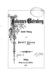 Johannes Gutenberg: epische Dichtung