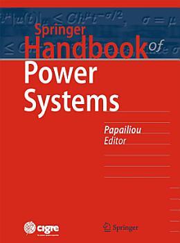 Springer Handbook of Power Systems PDF