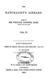 Birds of Great Britain and Ireland: Parts 1-4, Volume 4