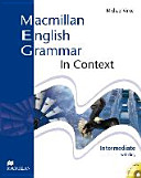 Macmillan English grammar in context  Intermediate  with key  with CD ROM  PDF