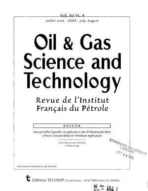 Oil   Gas Science and Technology PDF