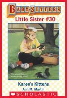 Karen s Kittens  Baby Sitters Little Sister  30  PDF
