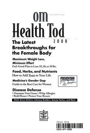 Women s Health Today 2000