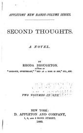 Second Thoughts: A Novel, Volume 1