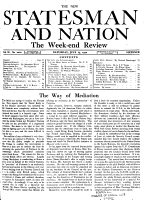 The New Statesman and Nation PDF