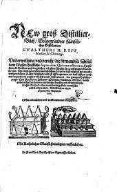 Das new groß Distillierbuch