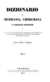Dizionario Di Medicina, Chirurgia E Farmacia Pratiche Di Andral, Begin, Blandin ... prima trad. italiana (consupplemento et appendice)