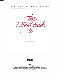 The Lotus Guide to Learning Symphony PDF