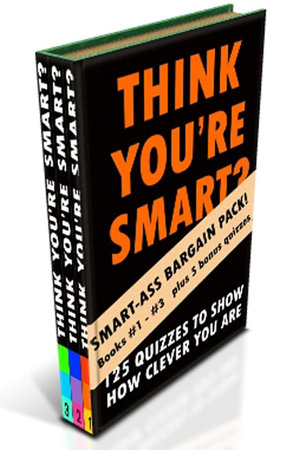 THINK YOU   RE SMART  BUMPER EDITION  Books  1  3