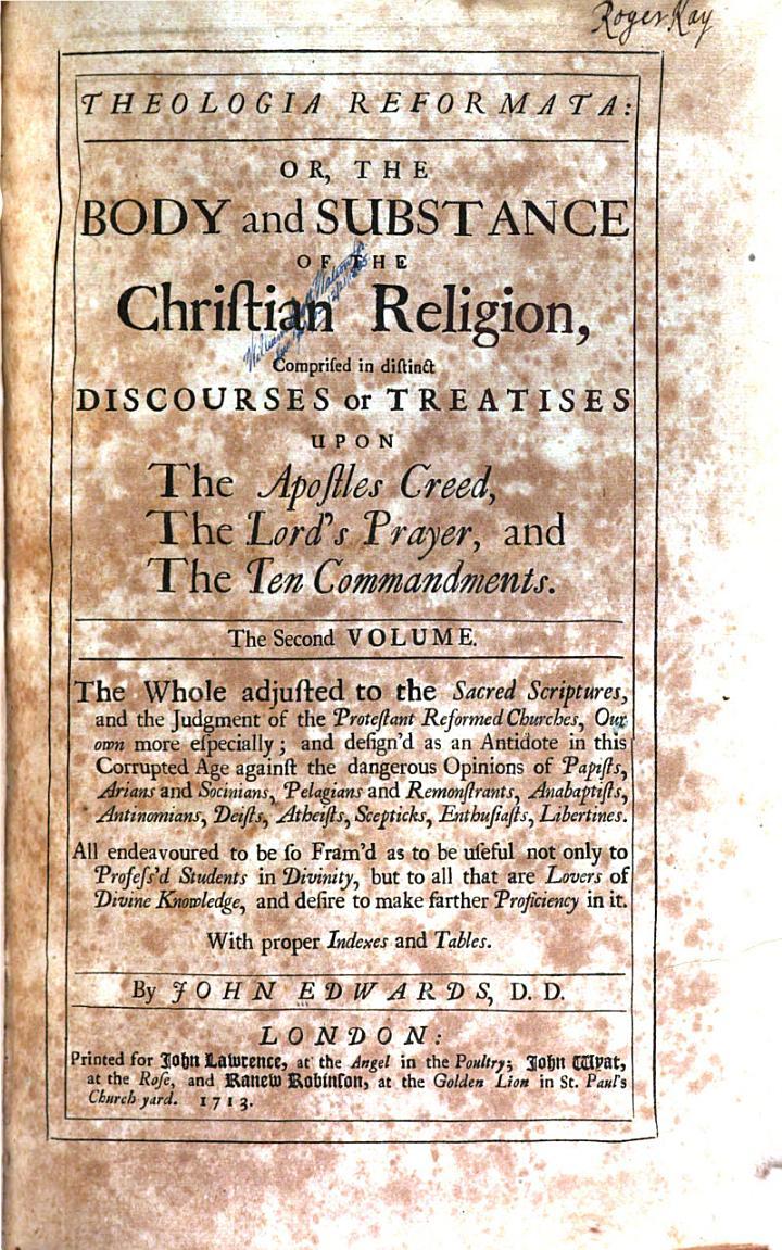Theologia Reformata
