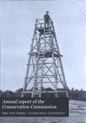 Annual Report of the Conservation Commission: Volume 1