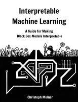 Interpretable Machine Learning PDF