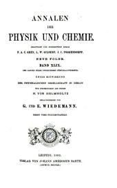 Annalen der Physik und Chemie: Band 49