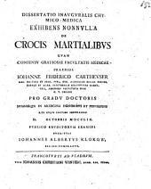 De crocis martialibus