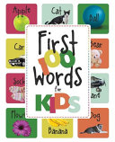 First 100 Words For Kids Book PDF