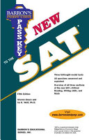Pass Key To The New Sat Book PDF