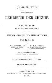 Graham-Otto's ausführliches lehrbuch der chemie: Band 1,Teil 2
