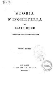 Storia d'Inghilterra di David Hume: Volume 4