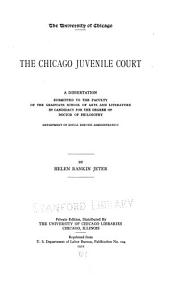 The Chicago Juvenile Court: Issues 104-108