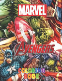 Marvel Avangers Coloring Book