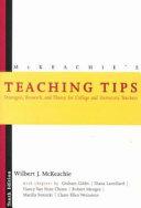 McKeachie s Teaching Tips Book
