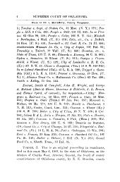Oklahoma Reports: Cases Determined in the Supreme Court of the State of Oklahoma, Volume 25