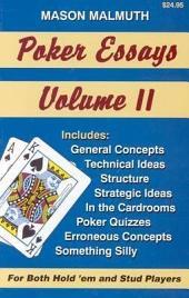 Poker Essays: Volume 2