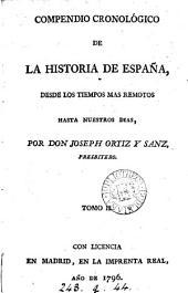 Compendio cronológico de la historia de España: Volumen 2