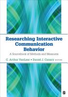Researching Interactive Communication Behavior PDF