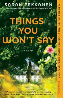 Things You Won t Say Book