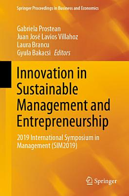 Innovation in Sustainable Management and Entrepreneurship