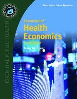 Essentials of Health Economics PDF