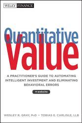 Quantitative Value Book PDF