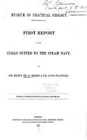 First   third  Report on the Coals Suited to the Steam Navy PDF