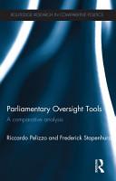 Parliamentary Oversight Tools PDF