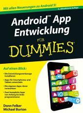 Android App Entwicklung für Dummies: Ausgabe 3