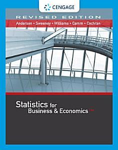 Statistics for Business   Economics  Revised Book