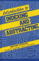 Introduction to Indexing and Abstracting PDF