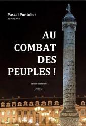 Au combat des peuples !