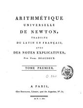 Arithmétique universelle: Volume 1